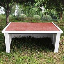 Wiltec Garage Carport für Rasenmäherroboter mit