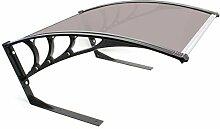 Wiltec Mähroboter Garage Braun Dach Carport für