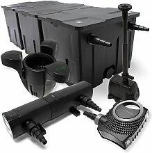 Wiltec - Set: Teichfilter 90000l SuperEco 80W