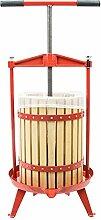 Wiltec Spindelpresse Holz 18 Liter Obstpresse