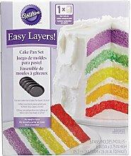 Wilton 2105-0112 Cake Pan Easy Layers, Backform,