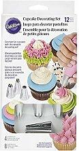 Wilton Cupcake Decorating Set/12 Spritztüllen,