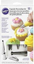 Wilton Deko-Set für Cupcakes, 12-teilig