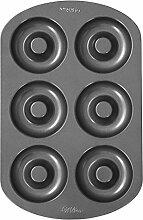 Wilton Donut-Backform, Antihaft, Groß, 6