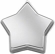 Wilton Kuchen-Backform Stern, Aluminium