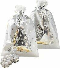 Wilton Silber Weihnachten behandeln Taschen,