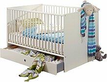 Wimex Babybett 319224 Bibi, Weiß, Abs.