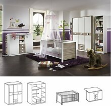 Wimex Babyzimmer Set Jalta, bestehend aus Babybett