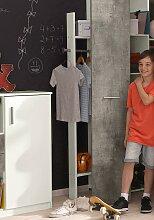Wimex Kleiderstange Joker 32x12x179 cm weiß