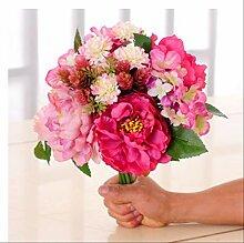 WIMONO Künstlicher Blumenstrauß, Künstliches
