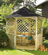 Winchester Gartenlaube mit Schindeldach (Groß) Gartenhaus aus Holz günstig kaufen.