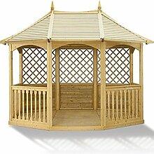 Winchester Pavillon (mittegroß) Gartenhaus aus Holz günstig kaufen.