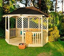 Winchester Schindeln Pavillon (Mittel) Gartenhaus aus Holz günstig