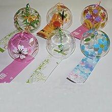 Wind Glocke Japanische Wind Chimes Handgefertigtes Glas Wind chimes-ca