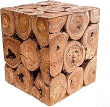 WINDALF Natur Beistelltisch ALINA h: 35 cm