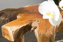 WINDALF Natur Beistelltisch & Pflanzentreppe