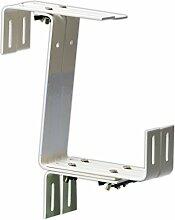 Windhager 05808 Blumenkasten-Halter 3-fach Stabil,