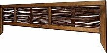 Windhager 06907 Weide Gerahmt, Beeteinfassung, Braun, 100 x 25 cm