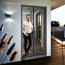 Windhager Insektenschutz-Tür EXPERT Plissee, BxH: