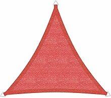 Windhager Sonnensegel, Sonnenschutz, Sunsail ADRIA Dreieck 5 x 5 x 5 m (gleichschenkelig), UV-Schutz, witterungsbeständig; TERRACOTTA; 10973