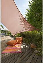Windhager Sun Sail Adria Quadrat 3,6 m terracota