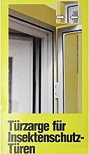 Windhager Zarge für Insekten Tür 125x245cm braun Alu Rahmen Fliegen Mücken 03887