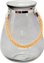 Windlicht 27cm Kerzenständer Kerzenhalter