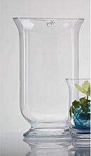 Windlicht, Dekoglas HURRICANE PROMO H. 40cm D. 22cm transparent Sandra Rich (17,95 EUR / Stück)