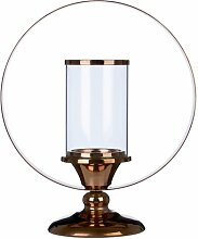 Windlicht Eager aus Eisen und Glas Bloomsbury