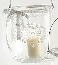 """Windlicht """"Flowers & Garden"""" GLASWINDLICHT FLOWERS GARDEN 49136"""