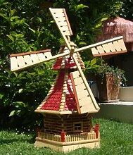 Windmühle,Windmühle für Garten, mit
