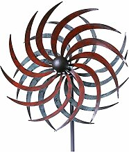 Windrad Garten Mallorca Metall