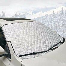 Windschutzscheibe Schnee, Universal Auto Windschutzscheibe Schnee und Eis Cover schützt Windschutzscheibe Scheibenwischer
