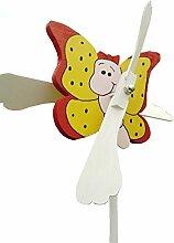 Windspiel Baby Schmetterling handbemalt