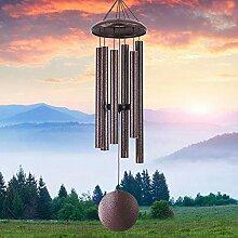 Windspiel für den Außenbereich, tiefer Klang,