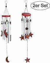 Windspiel für Draußen Glockenspiel für Garten