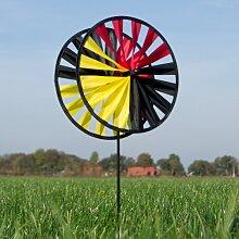 Windspiel Magic Wheel Twin 25 TEAM GERMANY WM Deutschland Gartendeko