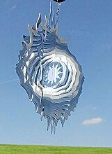 Windspiel Sonne Strahlen 27x27cm Stab 100cm