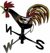 Windspiel Wetterhahn Kunststoff ca. 44 x 44 x 35 cm