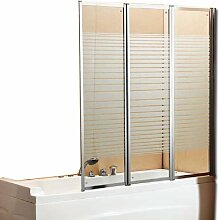 Windy Badewannen-Aufsatz/ Duschkabinen-Wand,