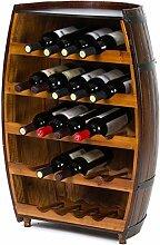 Wine Rack - ♦ JJ Weinregal aus Holz stehend