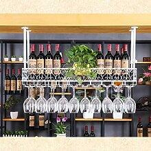 Wine Rack - Antike Schmiedeeisen-Weinregal Für