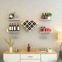 Wine Rack - Haushalts-festes Holz-Weinregal,
