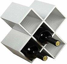 Wine Rack - Holz Weinregal Kreative Rhombus