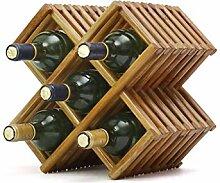 Wine Rack - Massivholz-Weinregal-moderner
