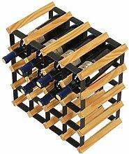 Wine Rack- Massivholz Weinregal, Restaurant Home