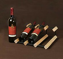 Wine Rack - Massivholz Weinregal Schlanke