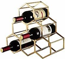 Wine Rack - Metall Schmiedeeisen Weinregal Moderne