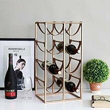 Wine Rack - Metall Weinregal Nordic Kreative