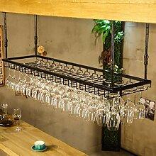 Wine Rack - Metall Weinregal Umgedreht Weinglas